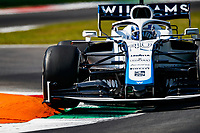 4th September 2020; Autodromo Nazionale Monza, Monza, Italy ; Formula 1 Grand Prix of Italy, free practise sessions;  40 Roy Nissany ISR, Williams Racing over the curbs