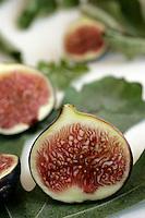 Figs on fig leaves