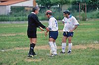 - Federazione Italiana Sport Disabili, partita di calcio con giocatori non vedenti<br /> <br /> - Italian Federation of Sports for the Disabled, soccer game with blind players