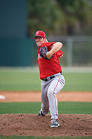 Boston Red Sox pitcher Teddy Stankiewicz (51) during a minor league Spring Training intrasquad game on March 31, 2017 at JetBlue Park in Fort Myers, Florida. (Mike Janes/Four Seam Images)