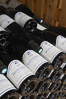 pile of bottles monthelie 2006 dom h & g buisson st romain cote de beaune burgundy france