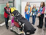 Laurent Roux, Sochi 2014.<br /> Team Canada arrives at the airport in Sochi for the Sochi 2014 Paralympic Winter // Équipe Canada arrive à l'aéroport de Sotchi pour Sochi 2014 Jeux paralympiques d'hiver. 04/03/2014.