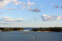 Insel Pihlajasaari , Helsinki, Finnland