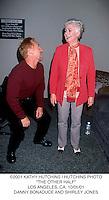 "©2001 KATHY HUTCHINS / HUTCHINS PHOTO.""THE OTHER HALF"".LOS ANGELES, CA. 10/05/01.DANNY BONADUCE AND SHIRLEY JONES"