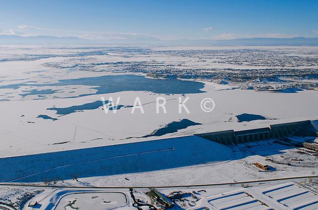 Dam at Lake Pueblo.  Feb 2014. 70619