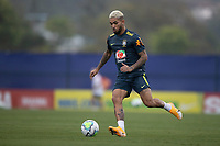 11th November 2020; Granja Comary, Teresopolis, Rio de Janeiro, Brazil; Qatar 2022 qualifiers; Douglas Luiz of Brazil during training session in Granja Comary