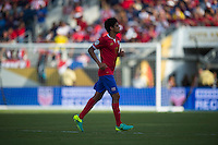 Orlando, Florida - Saturday, June 04, 2016: Costa Rican midfielder Yeltsin Tejeda (17) jogs to be substituted during a Group A Copa America Centenario match between Costa Rica and Paraguay at Camping World Stadium.