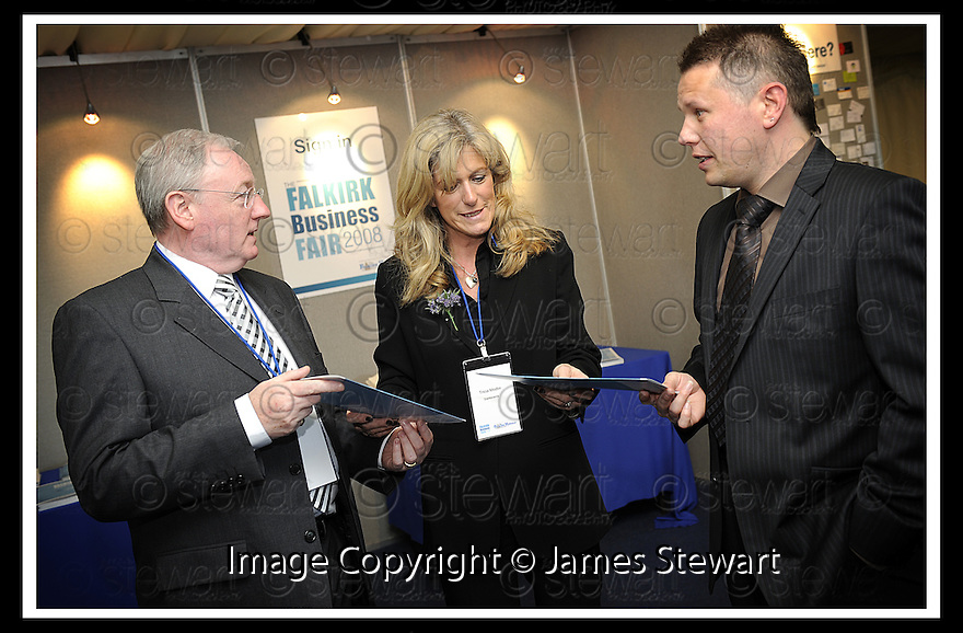01/05/2008   Copyright Pic: James Stewart.File Name : 43_business_fair.FALKIRK BUSINESS FAIR 2008.James Stewart Photo Agency 19 Carronlea Drive, Falkirk. FK2 8DN      Vat Reg No. 607 6932 25.Studio      : +44 (0)1324 611191 .Mobile      : +44 (0)7721 416997.E-mail  :  jim@jspa.co.uk.If you require further information then contact Jim Stewart on any of the numbers above........