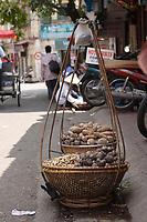 Hanoi<br /> , Vietnam - 2007 File Photo -<br /> <br /> street vendor.<br /> <br /> <br /> <br /> photo : James Wong-  Images Distribution