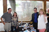 Tom and Sandy Weishaar (from left) Joseph and Cynthia Beil<br /> Dog Days of Summer<br /> Humane Society of the Ozarks<br /> Sassafras Springs Vineyard, Springdale