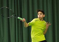 Rotterdam, The Netherlands, March 11, 2016,  TV Victoria, , NOJK 12/16 years, Zacharias Aipassa<br /> Photo: Tennisimages/Henk Koster
