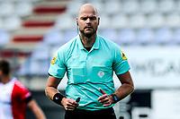 EMMEN - Voetbal, FC Emmen - Heracles Almelo , voorbereiding seizoen 2021-2022, 25-07-2021,  arbiter Rob Dieperink