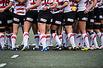 Japan Women's Team during the Womens Rugby World Cup 2017 Qualifier match between Hong Kong and Japan on December 17, 2016 in Hong Kong, Hong Kong. Photo by Marcio Rodrigo Machado / Power Sport Images