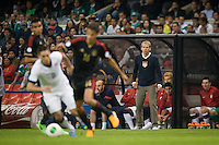 Mexico City, Mexico -Tuesday, March 26 2013: USA ties Mexico 0-0 during World Cup Qualifying at Estadio Azteca.