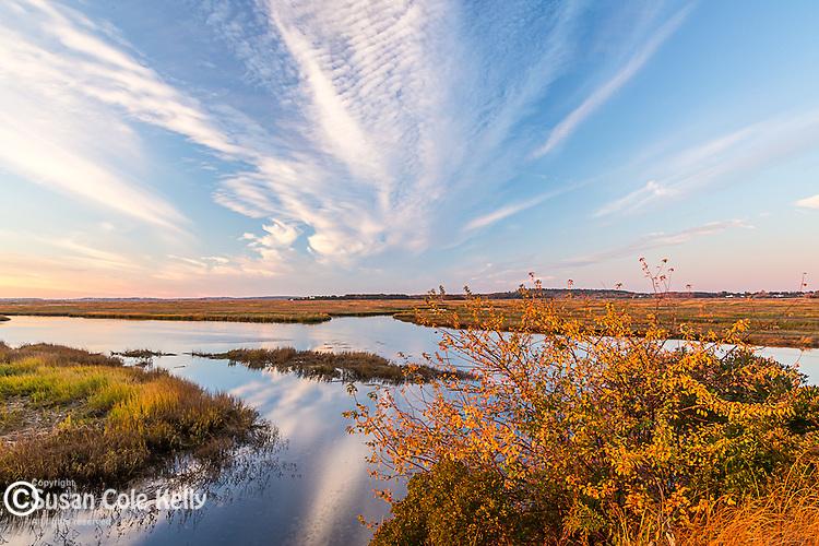 Dawn on the Parker River NWR in Newburyport, Massachusetts, USA