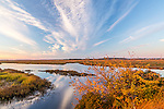 Dawn on the Parker River NWR in Newburyport, Massachusetts, USA