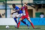 Tem Hansen of Yau Yee League Select during the match Leicester City vs Yau Yee League Select during the Day 2 of the HKFC Citibank Soccer Sevens 2014 on May 24, 2014 at the Hong Kong Football Club in Hong Kong, China. Photo by Victor Fraile / Power Sport Images