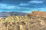 Zabriskie Point, Death Valley/HDR