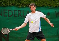 7-6-09, Amersfoort, Tennis, playoffs competitie, Jasper Smid