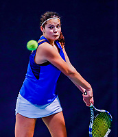 Hilversum, Netherlands, December 3, 2017, Winter Youth Circuit Masters, 12,14,and 16 years, Tess Demin (NED)<br /> Photo: Tennisimages/Henk Koster