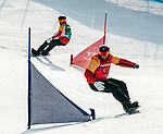 Curt Minard, PyeongChang 2018 - Para Snowboard // Parasnowboard.<br /> Highlights of Team Canada during Para Snowboard competition // Faits saillants d'Équipe Canada lors d'une compétition de parasnowboard. 12/03/2018.