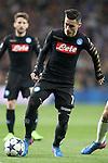 SSC Napoli's Jose Callejon during Champions League 2016/2017 Round of 16 1st leg match. February 15,2017. (ALTERPHOTOS/Acero)