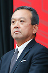 Manabu Nishimae, MAY 26, 2016 - : A press conference about presentation of Japan national team official sportswear for Rio de Janeiro Olympics 2016 in Tokyo, Japan. (Photo by Sho Tamura/AFLO SPORT)