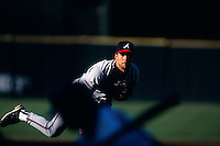 SAN FRANCISCO, CA - John Smoltz of the Atlanta Braves in action against the San Francisco Giants during a game at Candlestick Park in San Francisco, California in 1998.  Photo by Brad Mangin