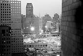 New York, New York.USA.February 2002.Ground Zero..In a home over looking ground zero.