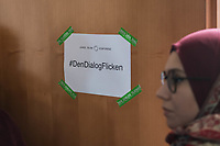 """Bundeskonferenz der """"Jungen Islam Konferenz"""" (JIK) vom 24. bis 26. Maerz 2017 in Berlin.<br /> Ca. 50 Junge Menschen verschiedener Religionen trafen sich zu der Bundeskonferenz im Deutschen Bundestag.<br /> Am Eroeffnungstag sprach die Staatsministerin fuer Integration, Aydan Oezoguz (SPD) zu den Konferenz-Teilnehmern.<br /> 24.3.2017, Berlin<br /> Copyright: Christian-Ditsch.de<br /> [Inhaltsveraendernde Manipulation des Fotos nur nach ausdruecklicher Genehmigung des Fotografen. Vereinbarungen ueber Abtretung von Persoenlichkeitsrechten/Model Release der abgebildeten Person/Personen liegen nicht vor. NO MODEL RELEASE! Nur fuer Redaktionelle Zwecke. Don't publish without copyright Christian-Ditsch.de, Veroeffentlichung nur mit Fotografennennung, sowie gegen Honorar, MwSt. und Beleg. Konto: I N G - D i B a, IBAN DE58500105175400192269, BIC INGDDEFFXXX, Kontakt: post@christian-ditsch.de<br /> Bei der Bearbeitung der Dateiinformationen darf die Urheberkennzeichnung in den EXIF- und  IPTC-Daten nicht entfernt werden, diese sind in digitalen Medien nach §95c UrhG rechtlich geschuetzt. Der Urhebervermerk wird gemaess §13 UrhG verlangt.]"""