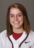 STANFORD, CA - OCTOBER 29:  Tegan Schmidt of the Stanford Cardinal softball team poses for a headshot on October 29, 2009 in Stanford, California.
