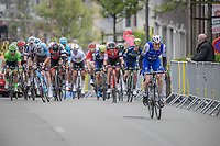 With less then 1km to go Dan Martin (IRE/Quickstep Floors) tries to break free from his fellow riders<br /> <br /> 103rd Liège-Bastogne-Liège 2017 (1.UWT)<br /> One Day Race: Liège › Ans (258km)