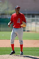 Reyes Dorado - Los Angeles Angels - 2009 spring training.Photo by:  Bill Mitchell/Four Seam Images