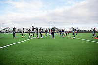 Wednesday  06 January 2016<br /> Pictured: Swansea First team training<br /> Re: Swansea City Training session at the Fairwood training ground, Swansea, Wales, UK
