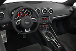 High angle dashboard view of a 2007 - 2010 Audi TT Roadster