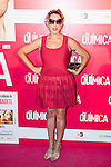"""Rossy de Palma attends the premiere of the film """"Solo Química"""" at Palafox Cinema in Madrid, Spain. July 14, 2015.<br />  (ALTERPHOTOS/BorjaB.Hojas)"""