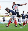 Falkirk trialist Robbie Neilson faces up to six weeks on the sidelines after suffering a triple cheekbone fracture following an aerial challenge with Pars' Ryan Thomson ...