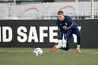 WIENER NEUSTADT, AUSTRIA - MARCH 25: Ethan Horvath #22 of the United States before a game between Jamaica and USMNT at Stadion Wiener Neustadt on March 25, 2021 in Wiener Neustadt, Austria.