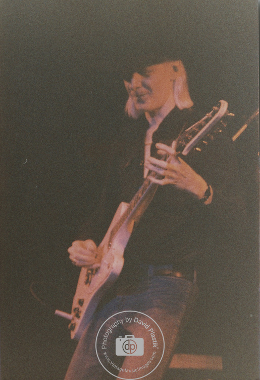 Johnny Winter. 1981