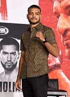 LOS ANGELES, CA - APRIL 29: Abel Ramos attends the undercard press conference for the Andy Ruiz Jr. vs Chris Arreola Fox Sports PBC Pay-Per-View in Los Angeles, California on April 29, 2021. The PPV fight is on May 1, 2021 at Dignity Health Sports Park in Carson, CA. (Photo by Frank Micelotta/Fox Sports/PictureGroup)