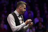 12th January 2020, Alexandra palace, London, United Kingdom; Mark Selby of England looks across the table during the round 1 match against Ali Carter of England at Snooker Masters 2020 at the Alexandra Palace .