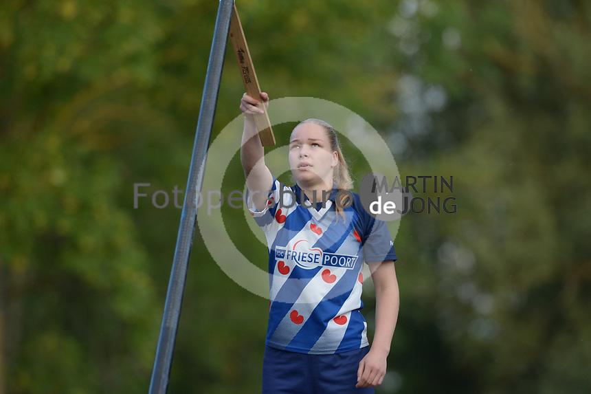 FIERLJEPPEN: FRYSLÂN: 2019, Femke Rispens, ©foto Martin de Jong