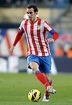 Atletico de Madrid's Diego Godin during La Liga Match. November 11, 2012. (ALTERPHOTOS/Alvaro Hernandez)