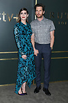 """LOS ANGELES - NOV 11:  Lizzy Caplan, Tom Riley at the """"Truth Be Told"""" Premiere Screening at Samuel Goldwyn Theater on November 11, 2019 in Beverly Hills, CA"""