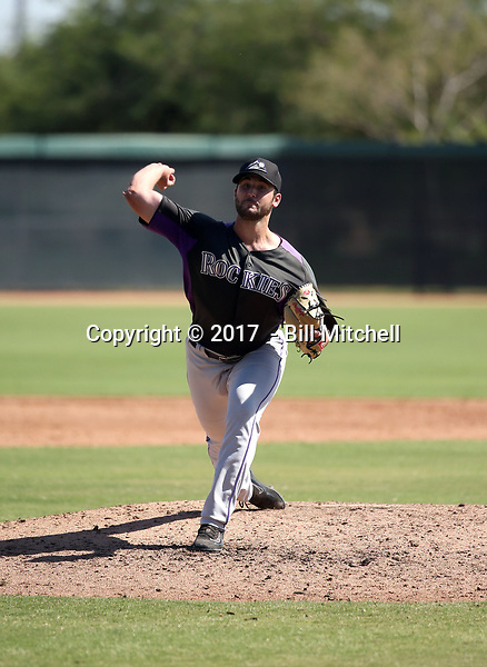 Colton Hathcock - 2017 AIL Rockies (Bill Mitchell)