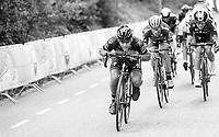 Philippe Gilbert (BEL/Quick Step floors) dropping low/speeding up<br /> <br /> 52nd Amstel Gold Race (1.UWT)<br /> 1 Day Race: Maastricht › Berg en Terblijt (264km)