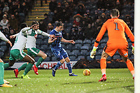 Oliver Rathbone (Rochdale AFC) during the Sky Bet League 1 match between Rochdale and Plymouth Argyle at Spotland Stadium, Rochdale, England on 15 December 2018. Photo by James  Gill / PRiME Media Images.