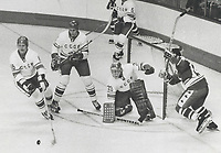 russian team vs Team Canada - Games in Quebec City (1974)<br /> <br /> PHOTO :  Jeff Goode - Toronto Star Archives - AQP