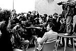 Festival di Venezia, 1981, John Travolta Photocall all'Hotel Excelsior Lido di Venezia