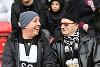 Swansea supporters during  to the Premier League match between Watford and Swansea City at the Vicarage Road, Watford, England, UK. Saturday 30 December 2017